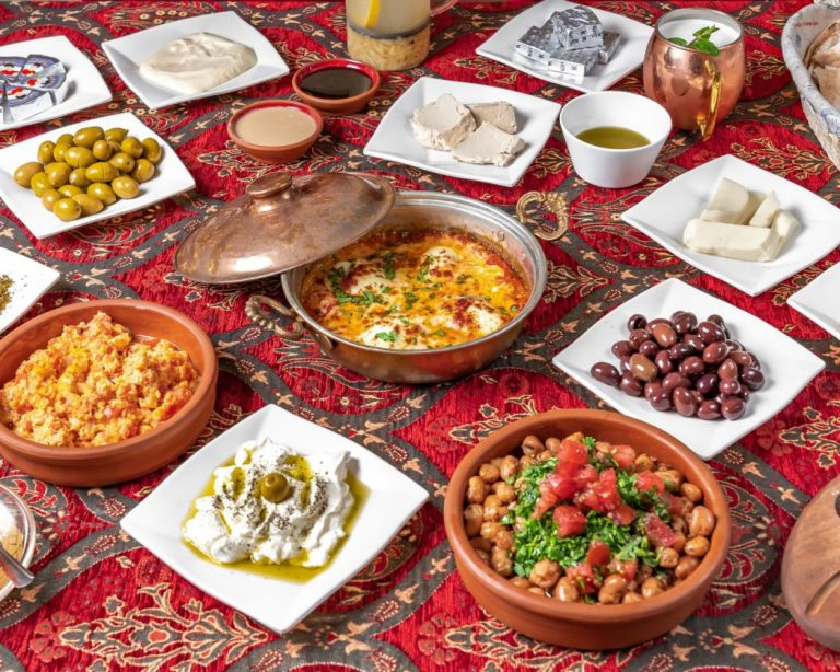 Syrian Kitchen_Syrian breakfast A only for a group of people